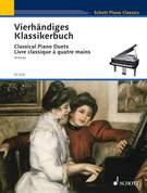 Cover icon of Geburtstagsmarsch in C major, Op. 85 No. 1 sheet music for piano four hands by Robert Schumann, classical score, easy/intermediate skill level