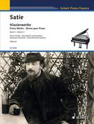 Cover icon of Danse de travers No. 3, from: Pièces froides sheet music for piano solo by Erik Satie, classical score, easy/intermediate skill level