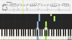 Minuet for piano solo