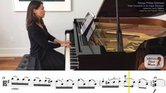 Concerto in G major Piano Accompaniment Video