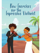 Cover icon of Bow Exercises for the Expressive Violinist sheet music for violin by David France, classical score, easy skill level