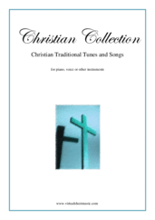 Cover icon of Christian Collection, Traditional Tunes and Songs sheet music for piano, voice or other instruments, easy skill level