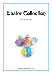 Easter Collection - Easter Hymns and Tunes for piano, voice or other instruments - charles wesley voice sheet music