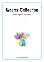 Cover icon of Easter Collection - Easter Hymns and Tunes sheet music for two alto saxophones, easy/intermediate duet