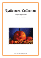 Cover icon of Halloween Sheet Music for tenor saxophone and piano, classical score, intermediate/advanced skill level