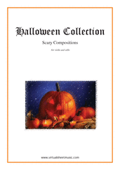 Cover icon of Halloween Sheet Music for violin and cello, classical score, intermediate/advanced duet