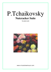 Nutcracker sheet music cover