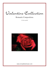 Cover icon of Valentine Sheet Music (parts) for brass quintet, classical score, intermediate/advanced skill level